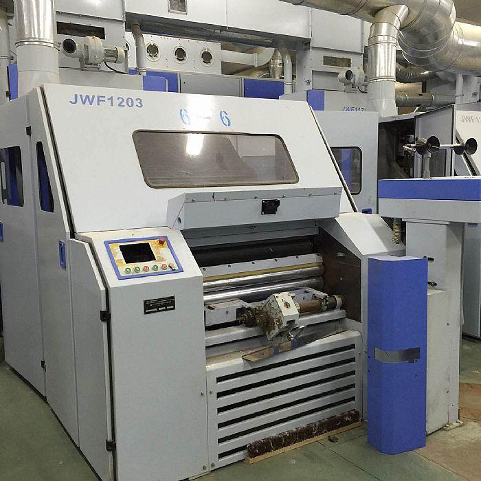 供应配额二手jwf1203型梳棉机